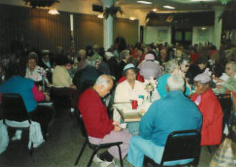 More than a hundred seniors are served each month on Senior's Day.
